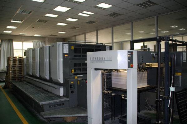 日本小森麗色龍印刷機不僅外形美觀,更重要的是具有出色的印刷品質