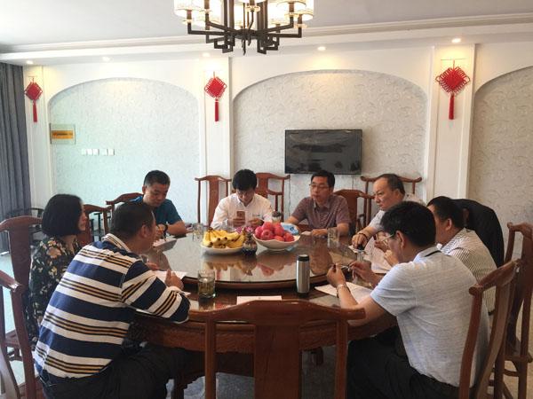 5月15日,商会评选活动方案讨论会在合肥联众公司会议室召开