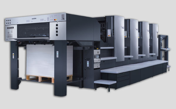 高速进口海德堡四色印刷机