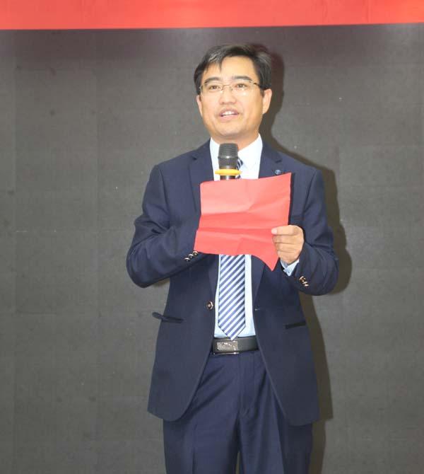 安徽皖瑞印务有限公司总经理董仕超代表发言