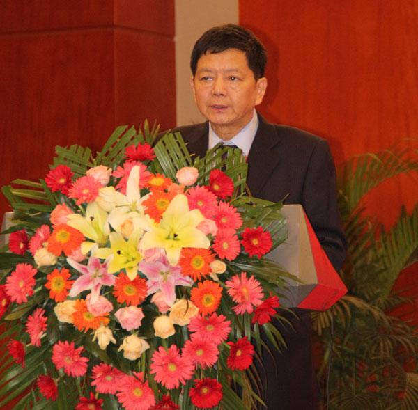中国印协柔印分会秘书长施建屏作重要讲话