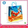 美胜充满圣诞节氛围的pp塑料袋圣诞老公公礼品包装袋塑料手提袋