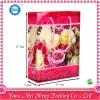 供應情人浪漫玫瑰印花七夕情人節手提禮品塑料袋