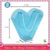 供应爱心造型pe塑料手提袋