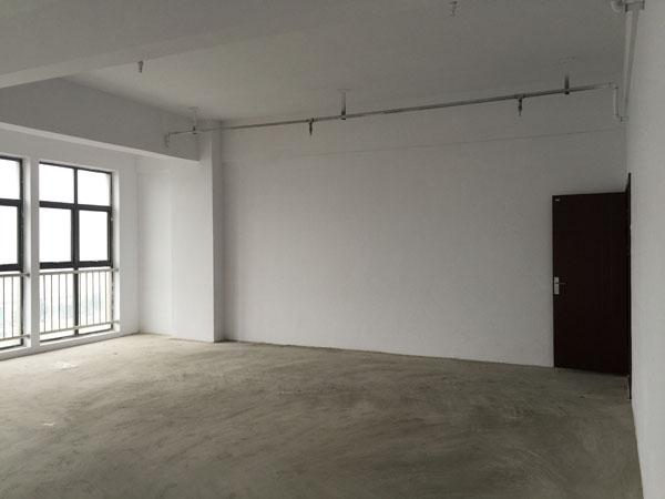 室内墙面粉刷一新,门窗齐全